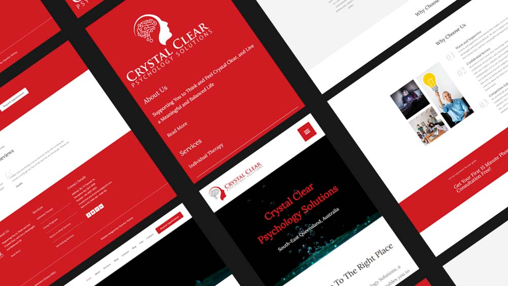CrystalClesar-website-development